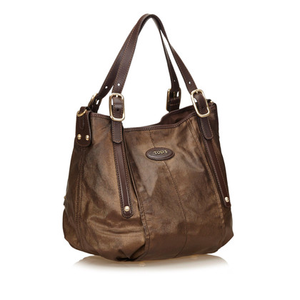 Tod's Canvas G-Line Satchel