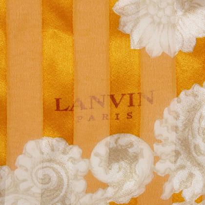 Lanvin Sciarpa di seta stampata