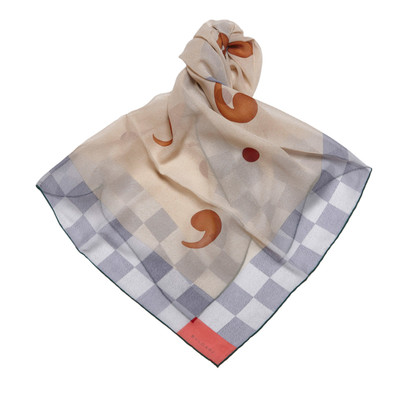 Bulgari Punctuation Mark Scarf