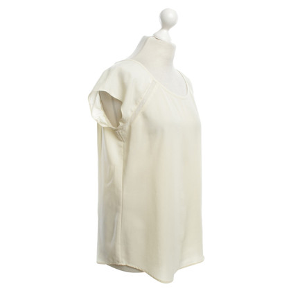 Maison Scotch Top in Crema