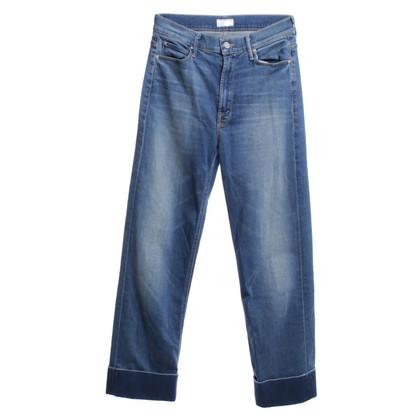 Mother Highwaist-Jeans in Blau