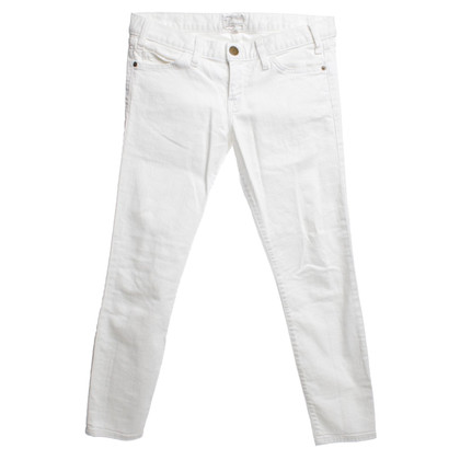 Current Elliott Jeans in Weiß