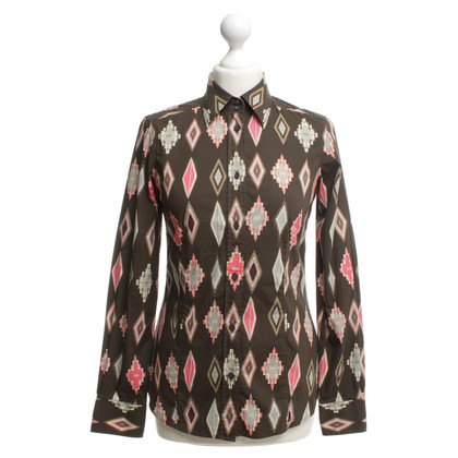 Etro Bluse mit Muster