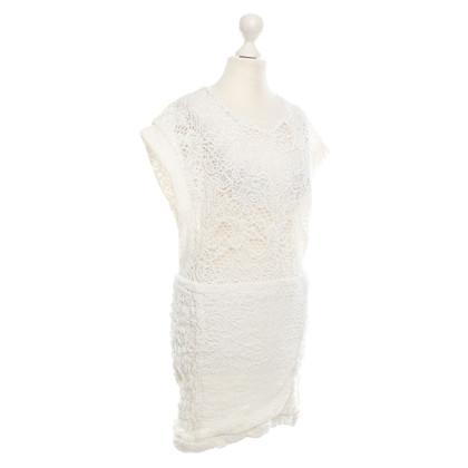 Iro Dress with Lace