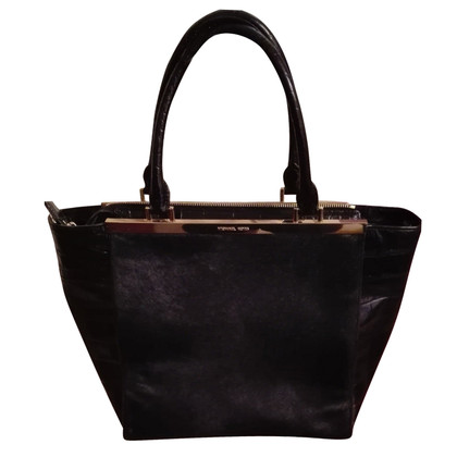 "Michael Kors ""Lana LG Tote Haircalf Black"""