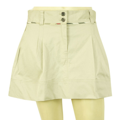 Burberry Mini skirt in beige