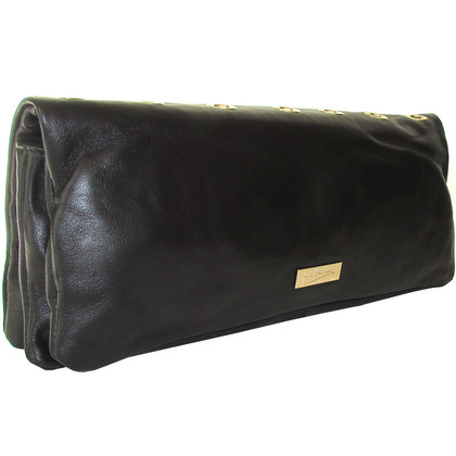 Pierre Balmain clutch met klinknagels