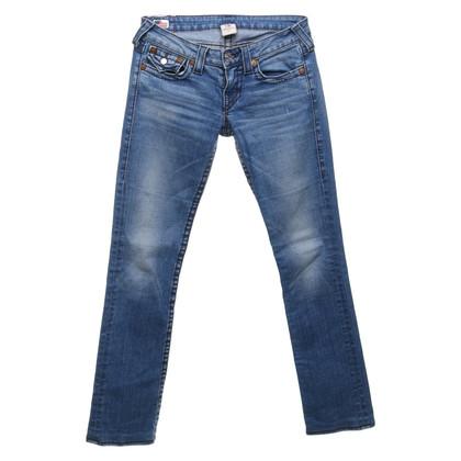 True Religion Blauwe spijkerbroek