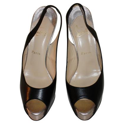 Christian Louboutin Platform of Sling peep-toes