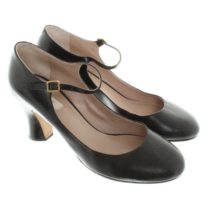 Marc Jacobs Black pumps glad leer