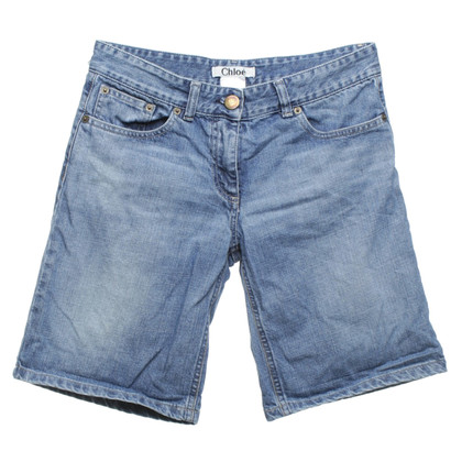Chloé Jeans-Shorts in Blau