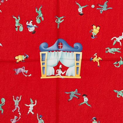 Bulgari Girotondo di Marionette Silk Scarf