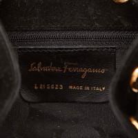 Salvatore Ferragamo Nubuck Leather Backpack