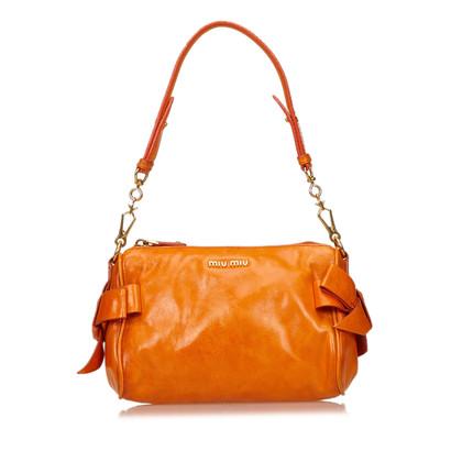 Miu Miu Bow Shoulder Bag
