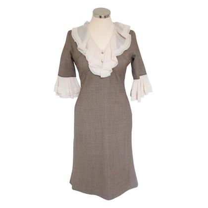 Temperley London Robe à manches de soie
