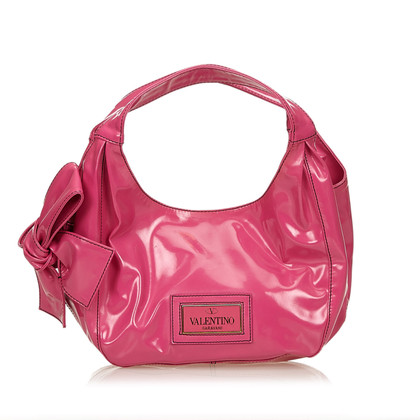 Valentino Patent Leather Nuage Bow