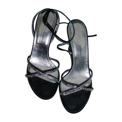 Dolce & Gabbana Sandals with rhinestones
