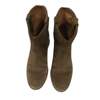 Isabel Marant Etoile Crisi Ankle Boots made of suede
