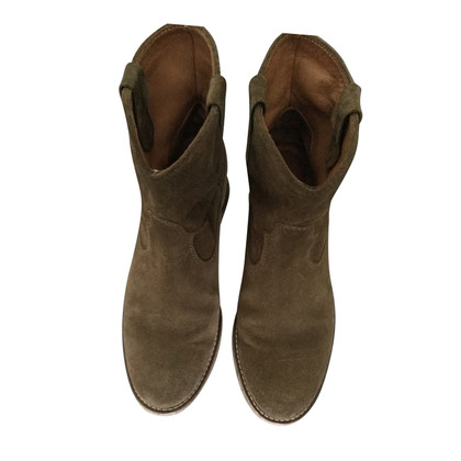 Isabel Marant Etoile Crisi Ankle Boots Suede