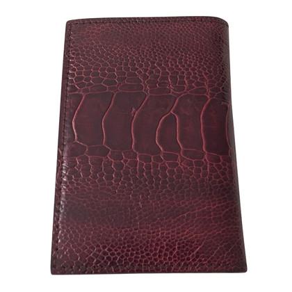 Dolce & Gabbana Kaarthouder Ostrich Leather