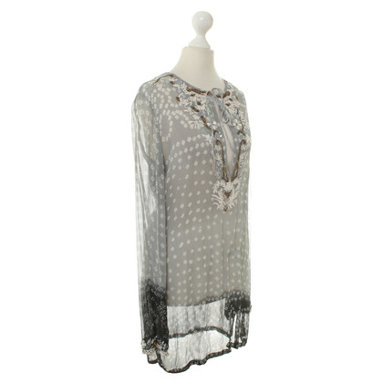 All Saints Tuniek met pailletten applicatie