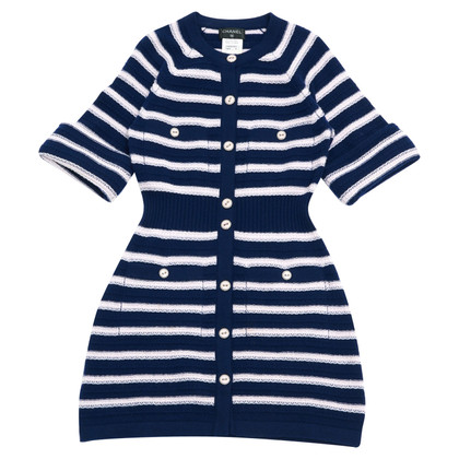 Chanel NAVY CASHMERE FR38 / 40