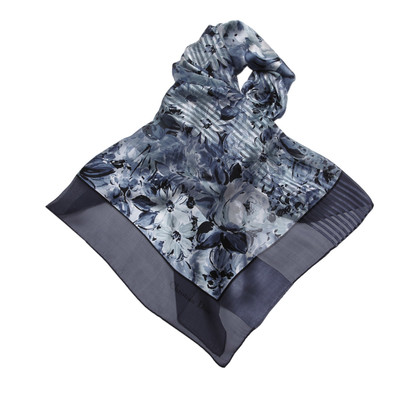 Christian Dior Floral Print Scarf
