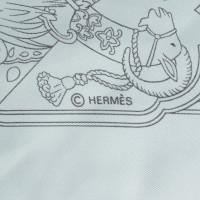 Hermès Silk scarf in light blue