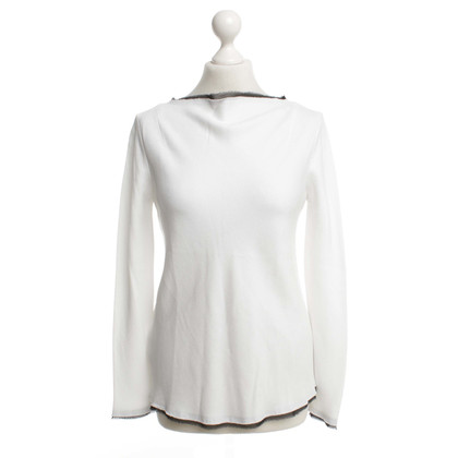 Pinko Blouse in white / black