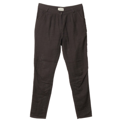 American Vintage Cotton Trousers in dark green