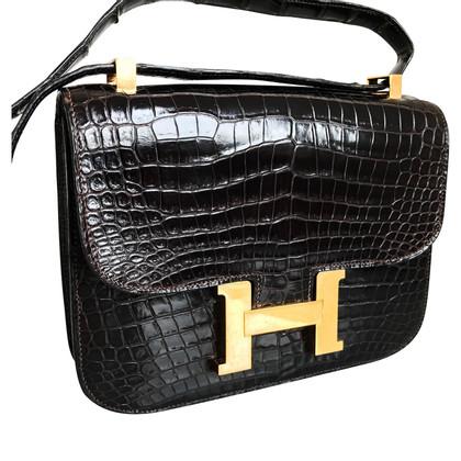 "Hermès ""Constance Bag"" crocodile skin"