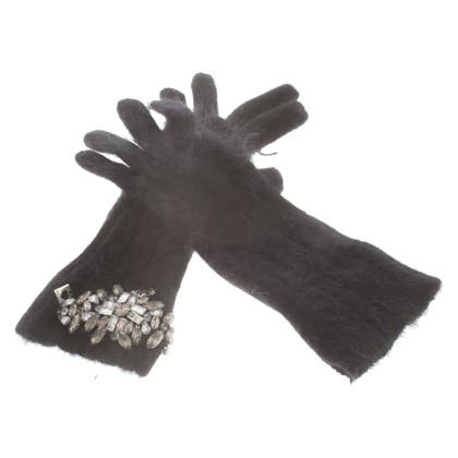 Twin-Set Simona Barbieri Handschoenen in zwart