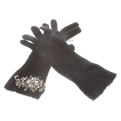Twin-Set Simona Barbieri Gloves in black