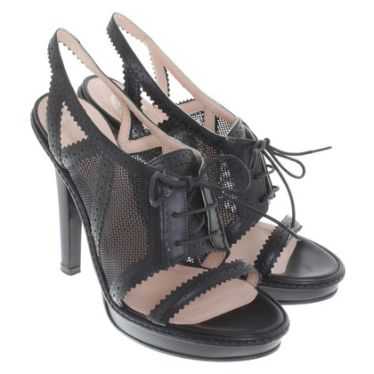 Versace Sandaletten in Schwarz