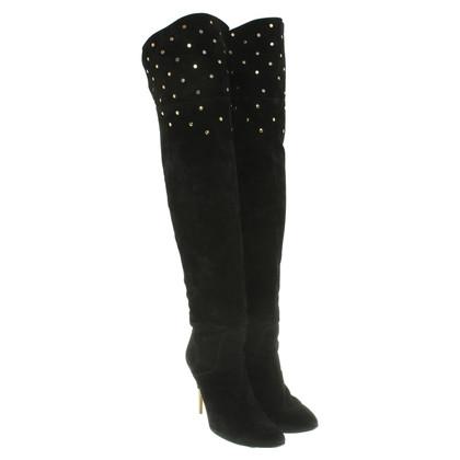 Chloé Overknees in black