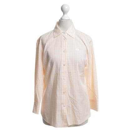 Van Laack Blouse with check pattern