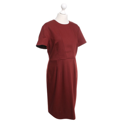 Jil Sander Kleid in Bordeaux