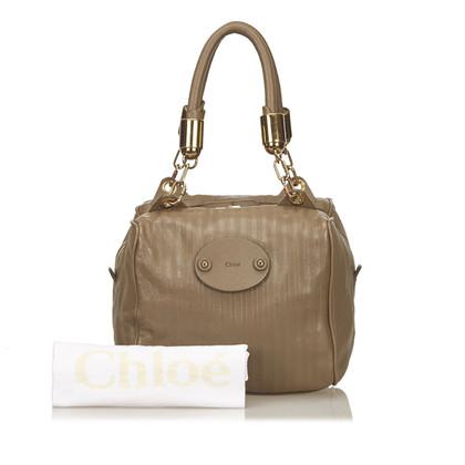 Chloé Leather Victoria Handle Bag