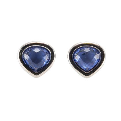 Swarovski Purple Drop Earrings