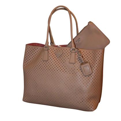 Prada Tote Bag Suede