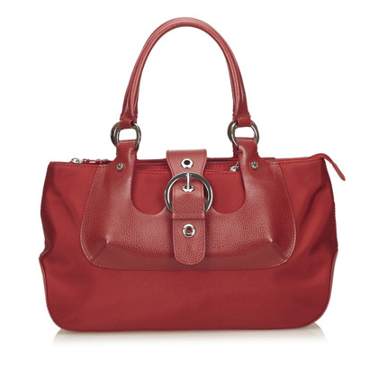 Lancel Nylon Handbag