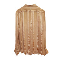 Stella McCartney Sheer Nude Silk Stella Mc Cartney Blouse