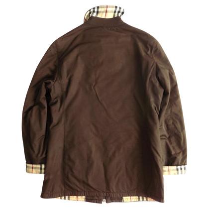 Burberry Gefütterte Jacke in Braun