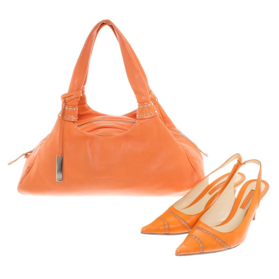 Pollini Slingbacks & Handbag