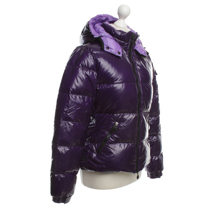 Moncler Jas in Purple