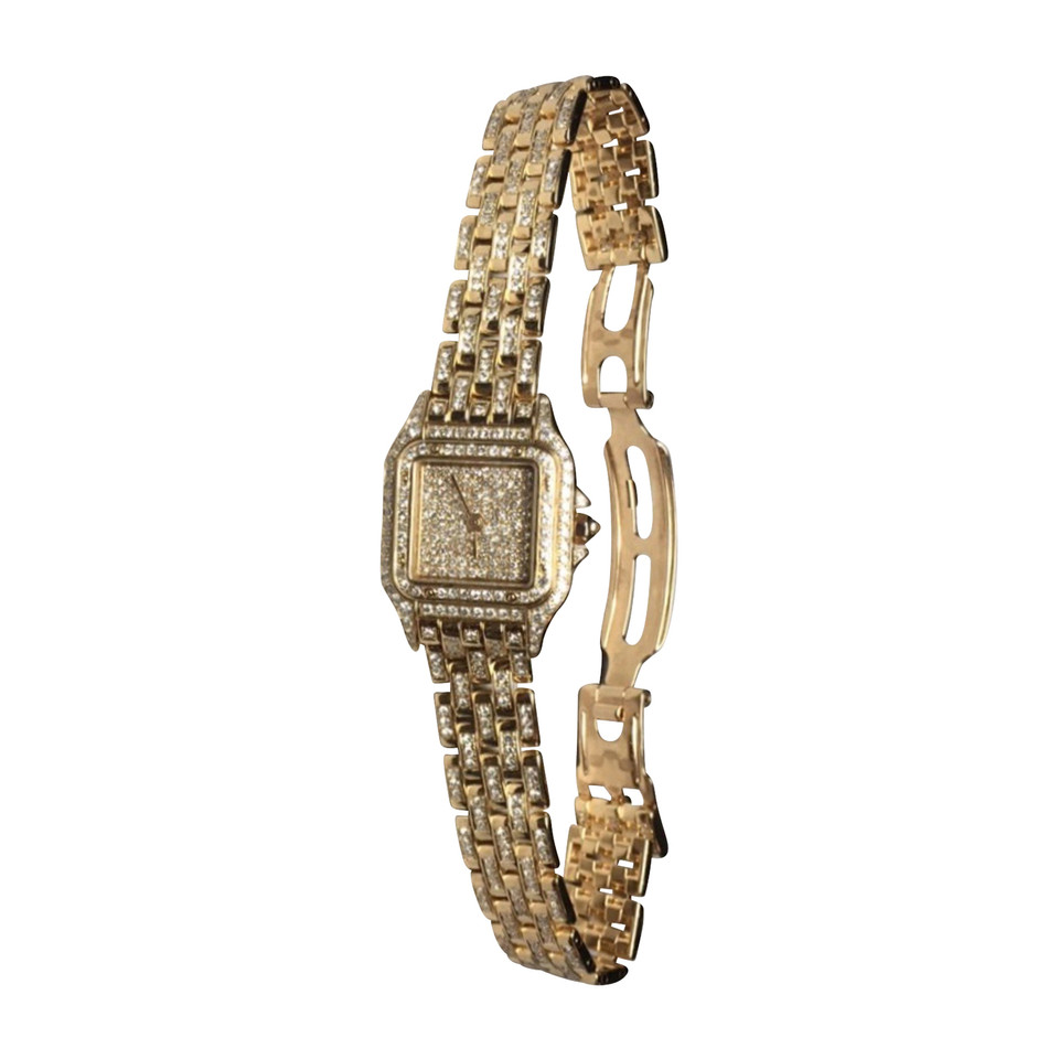 Cartier Cartier panther watch with diamonds