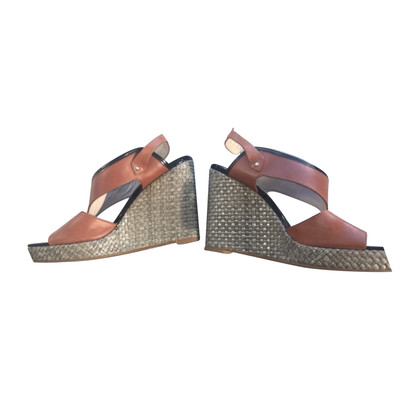 Marc by Marc Jacobs / Wedges sandales talon compensé en Gr. 38