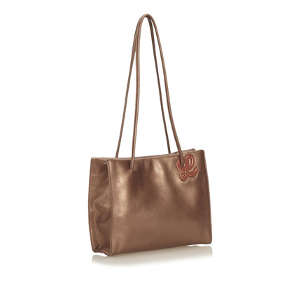 Loewe Metallic Leather Handbag