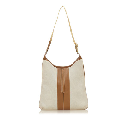 Lancel Canvas Schouder tas