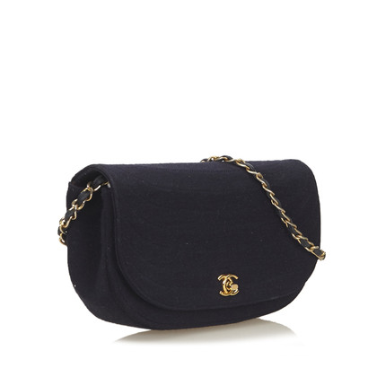 Chanel Quilted Cotton Flap Bag